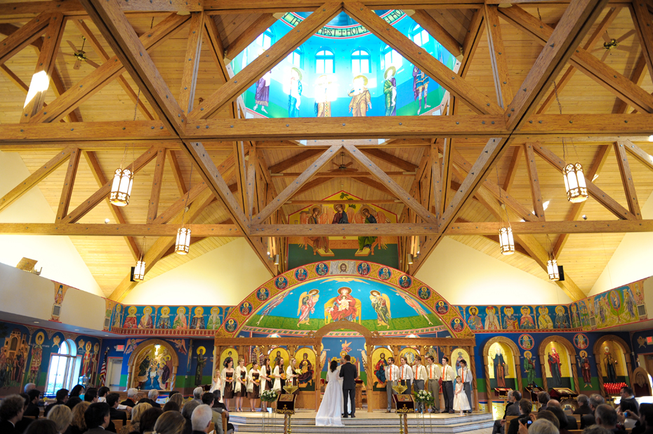 Holy Transfiguration Orthodox Church Wedding Photography