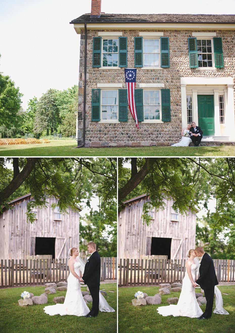 Helen And Paul Cobblestone Farm Detroit Wedding