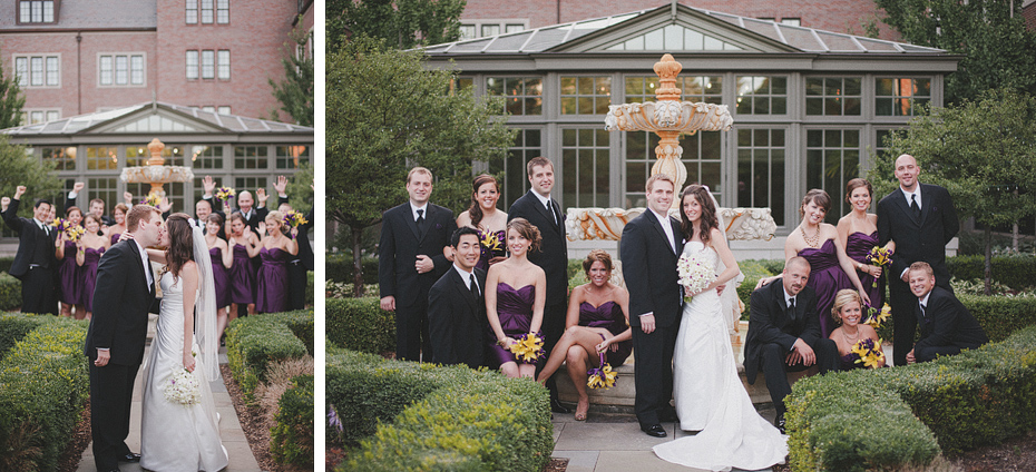 Royal Park Hotel Rochester Michigan Wedding Photography Photographer