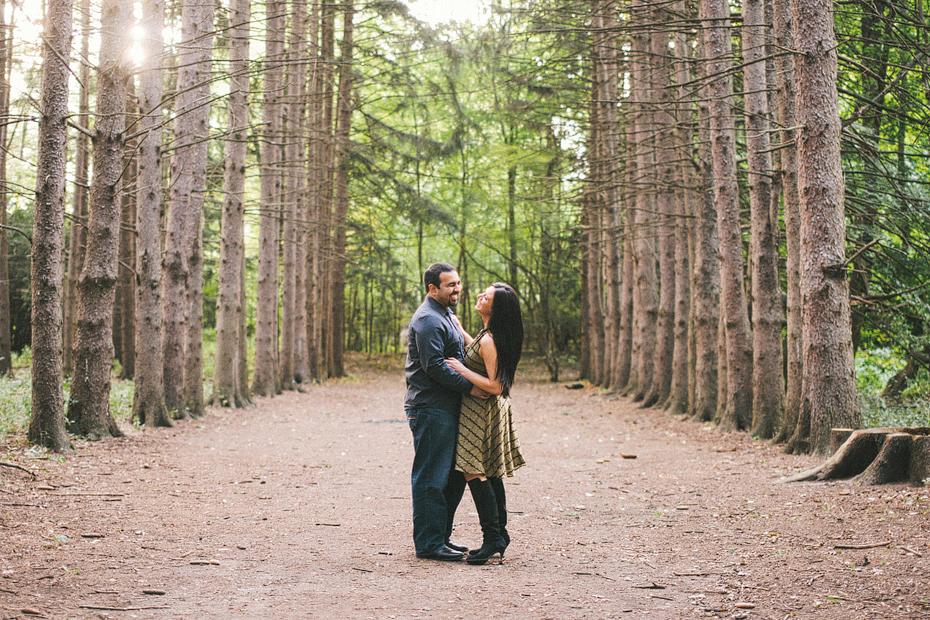 Michigan Wedding Photographer Artful Engagement Session Stony Creek