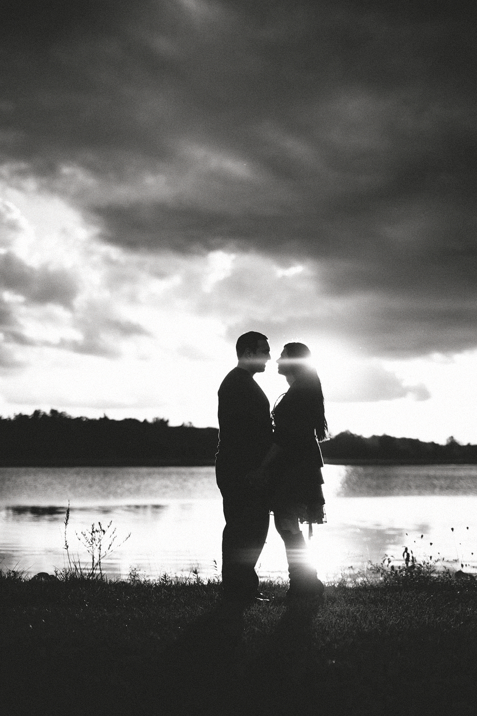 Ann Arbor Wedding Photographer Creative Engagement Session Stony Creek