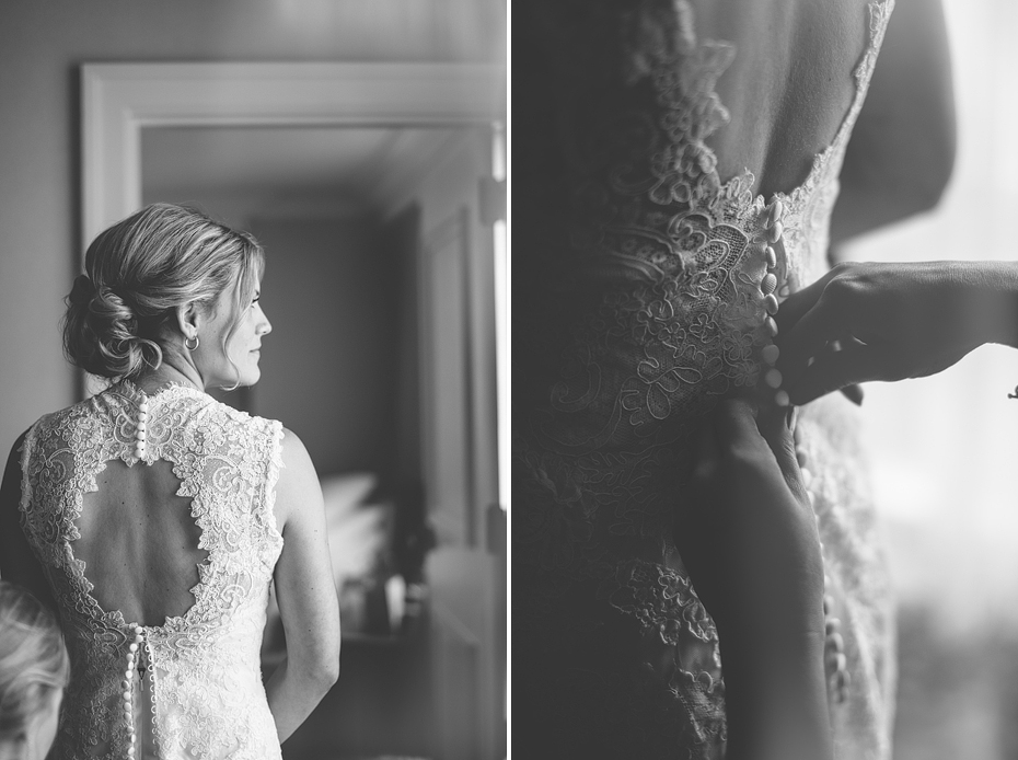 Ann Arbor Wedding Photographer Photography Fine Art Hipster Creative Black and White Lace Dress