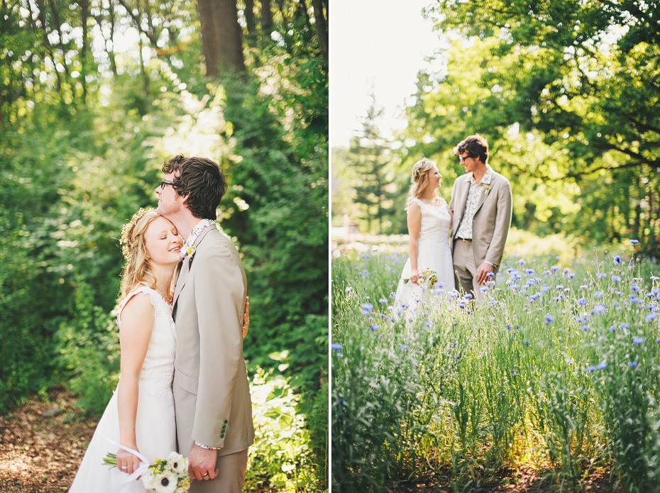 Ann Arbor Michigan Detroit Wedding Photographer Outdoors Nichols Arboretum Natural