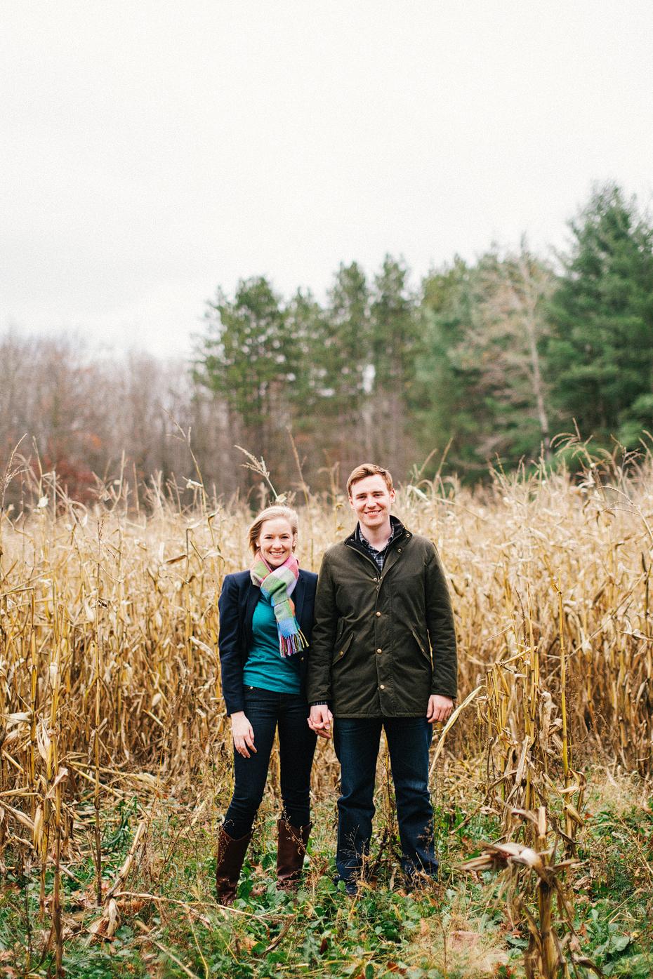 Heather Jowett Ann Arbor Detroit Fine Art Wedding Photographer Woods Engagement Session