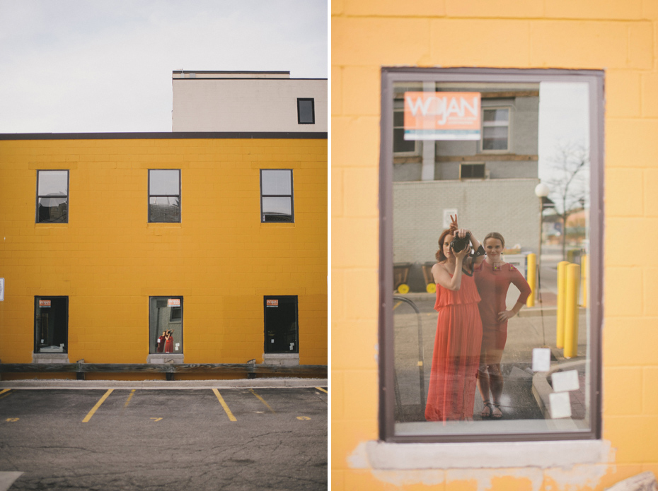 Ann Arbor Wedding Photographer Heather Jowett photographs Kyle Hepp, on the campus of the University of Michigan, for a personal project.