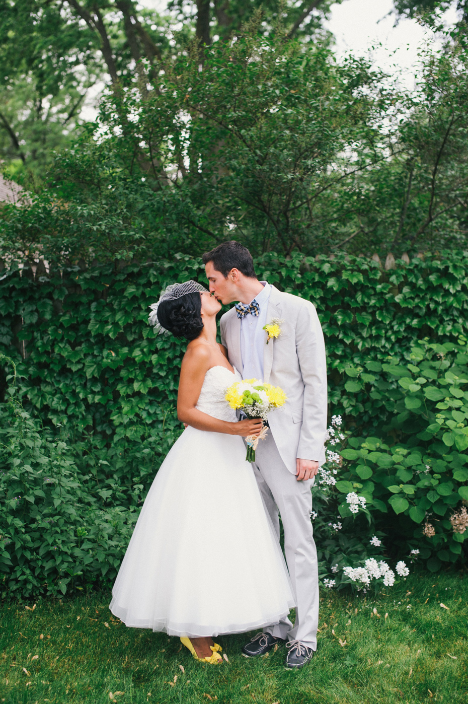 Arya and brett 39 s backyard wedding in kalamazoo detroit for Wedding dresses in kalamazoo mi