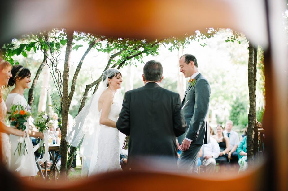 A backyard wedding by Detroit Michigan wedding photographer, Heather Jowett.