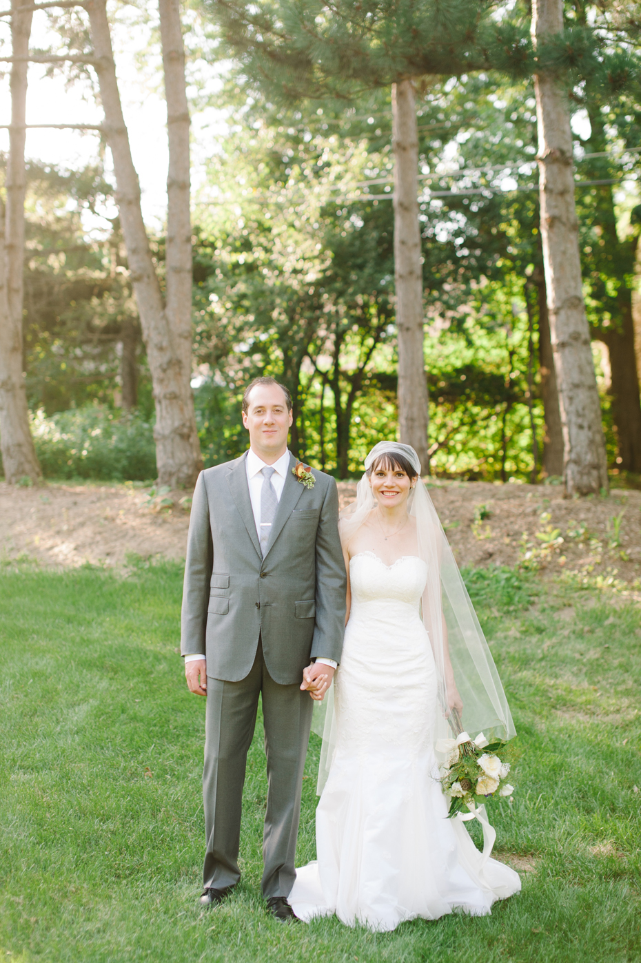 jenny and steve u0027s handmade backyard wedding detroit wedding