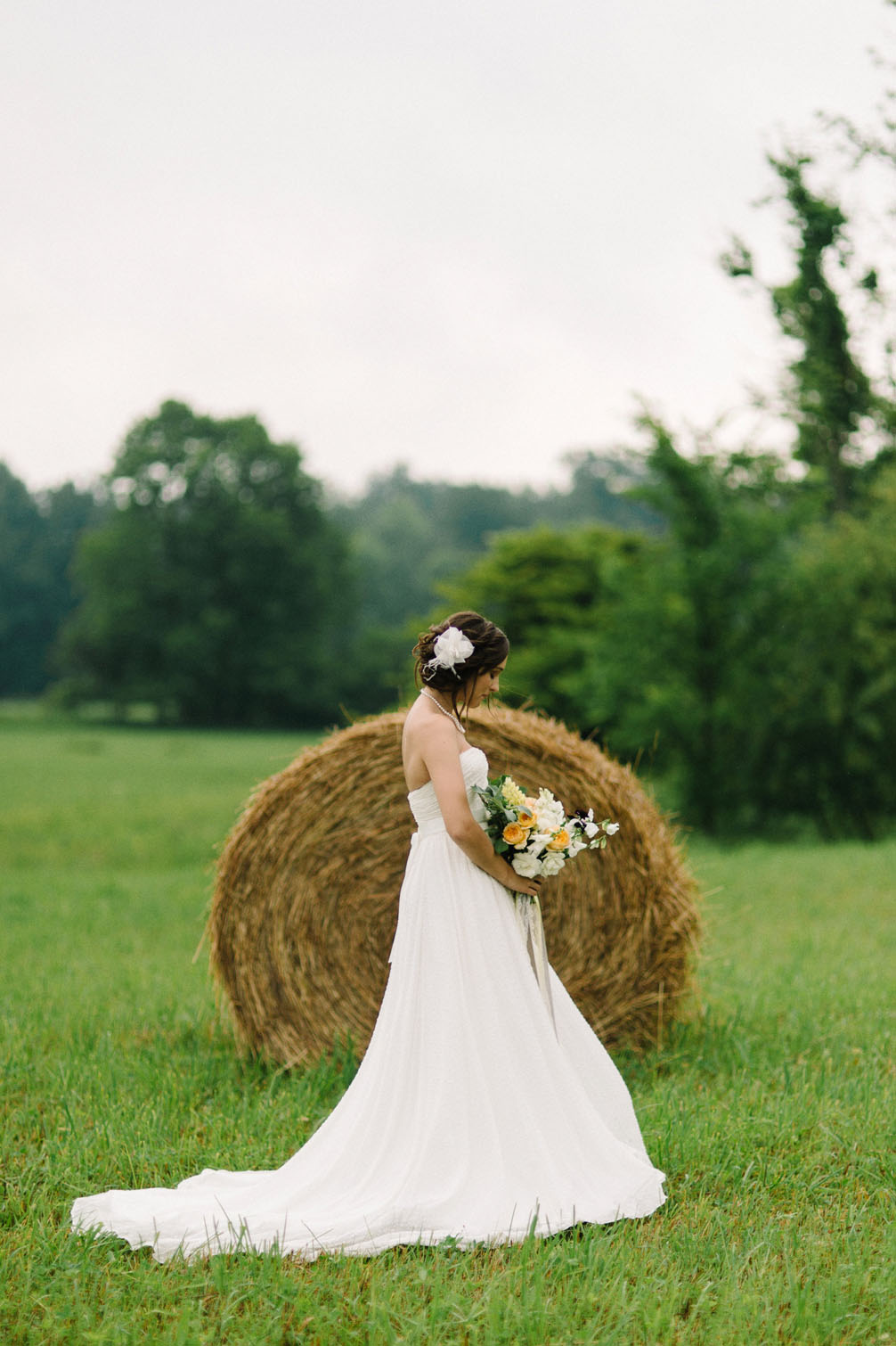 Cassy and Cameron's Wooded Wedding in Northern Michigan