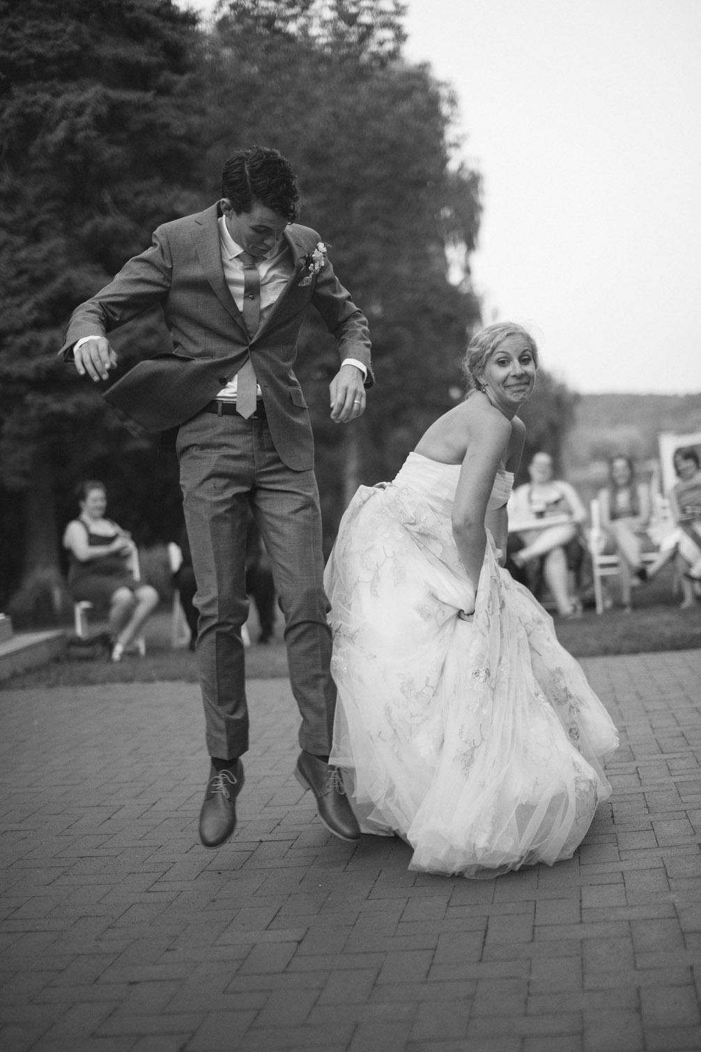 Whitney and Elliot's Wedding Bash at Tapawingo