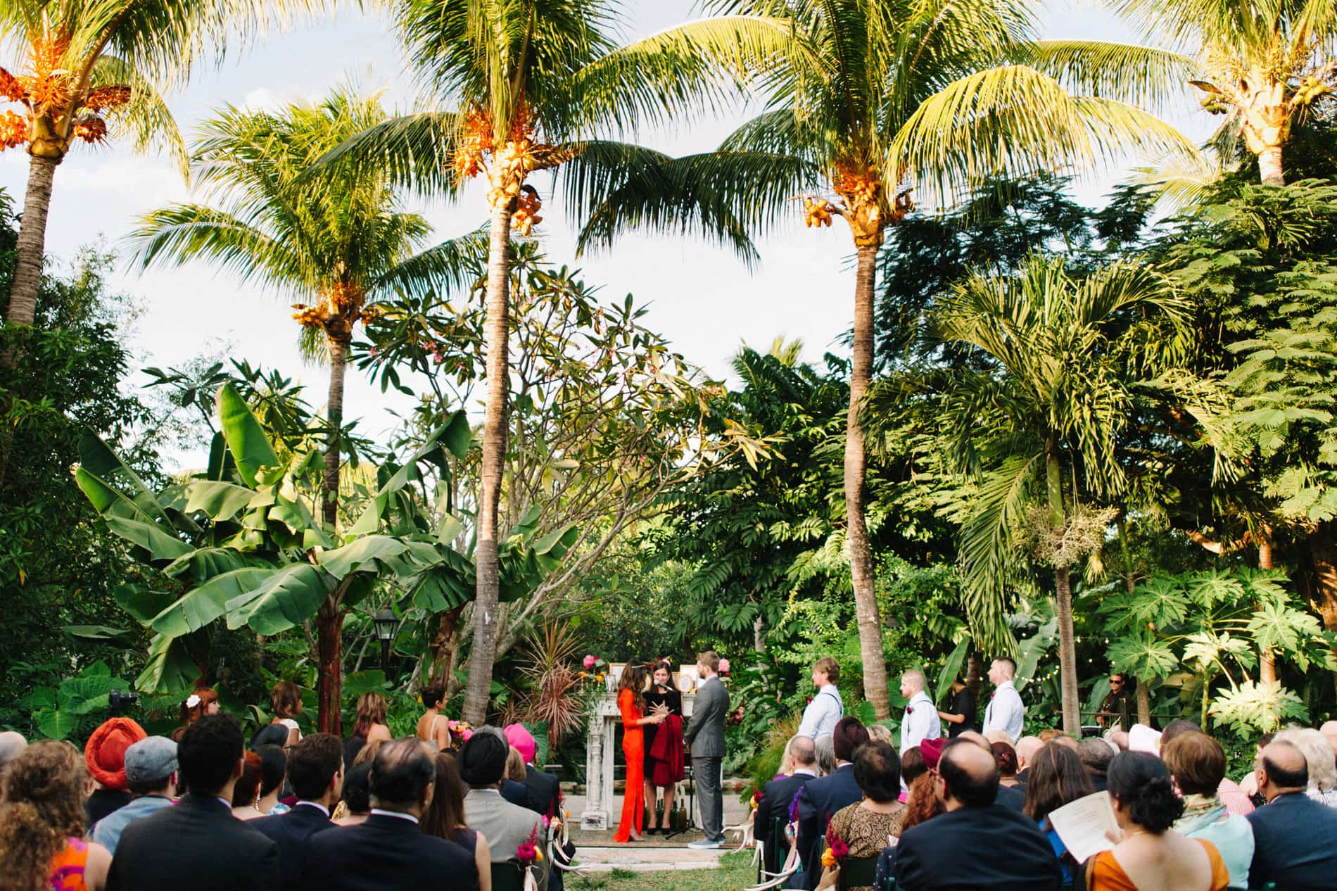 The Bride Wore Red – Sundy House Wedding in Delray Florida