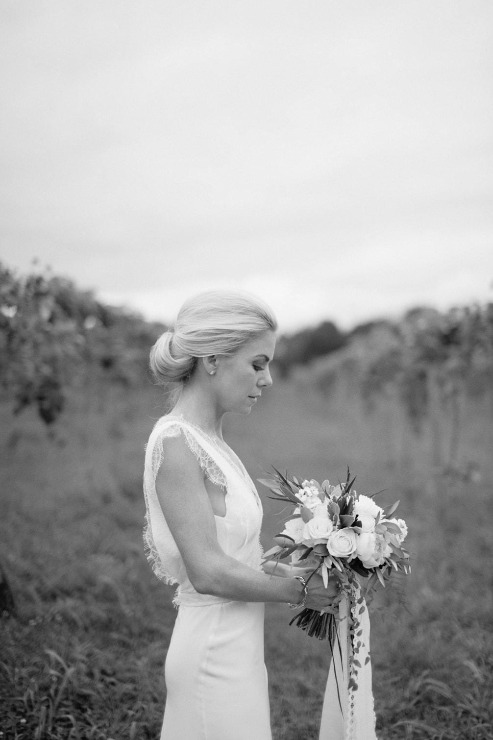 Nicole and Drew's Homespun Chic Hidden Vineyard Barn Wedding