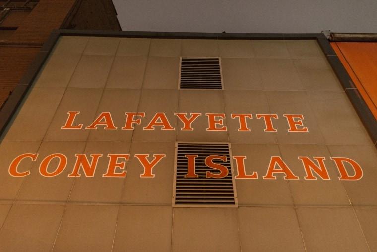 Lafayette Coney Island in Detroit