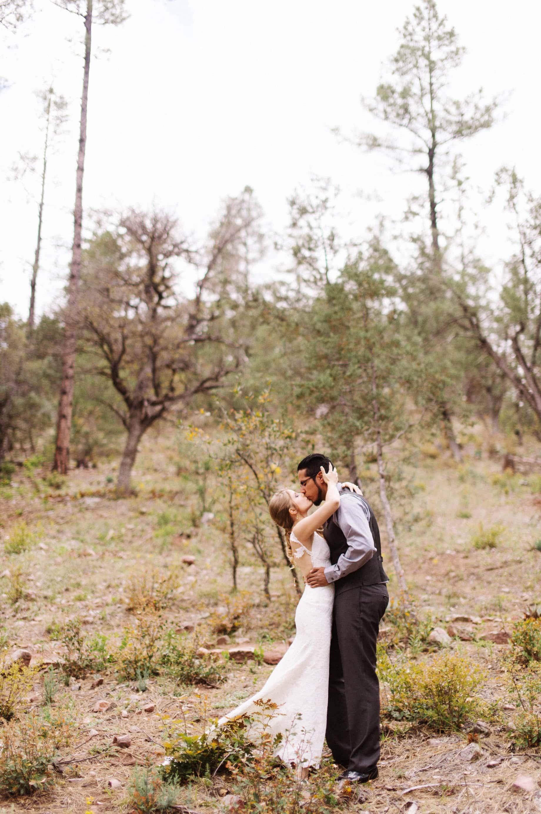 arizona wedding first look