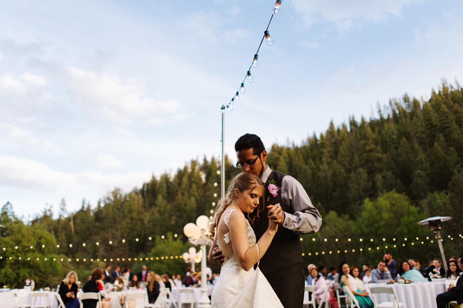 tonto creek camp wedding