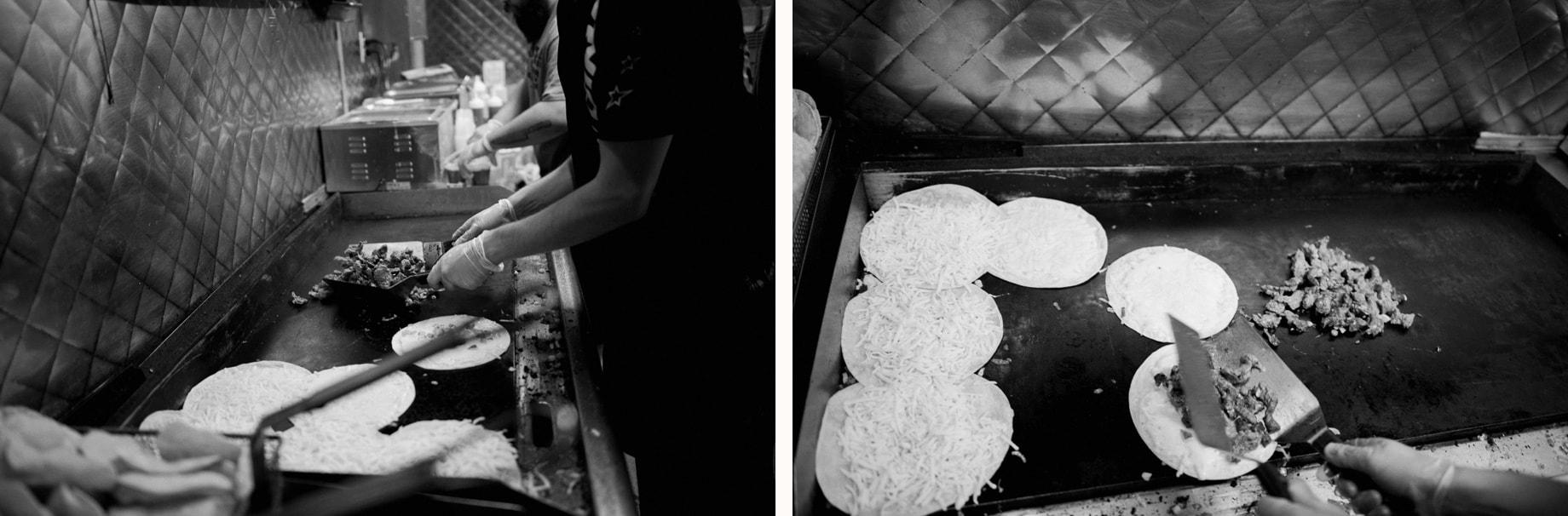 luncha libre food truck at wedding
