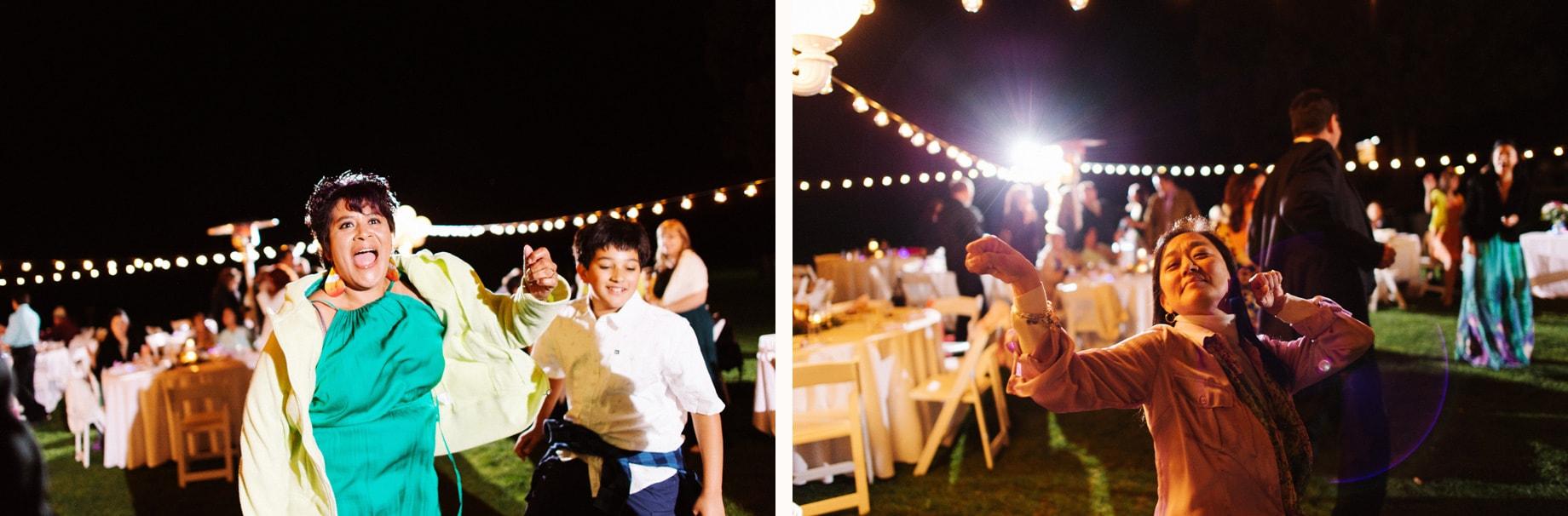 wedding guests dancing at tonto creek