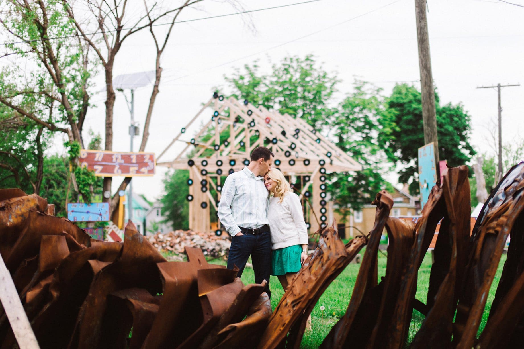 engagement photography at the heidelberg project