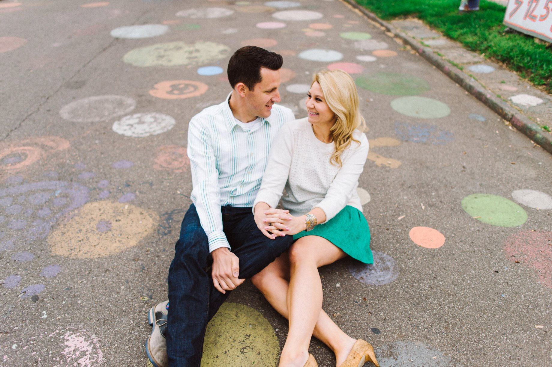 engagement session by Ann Arbor wedding photographer heather jowett