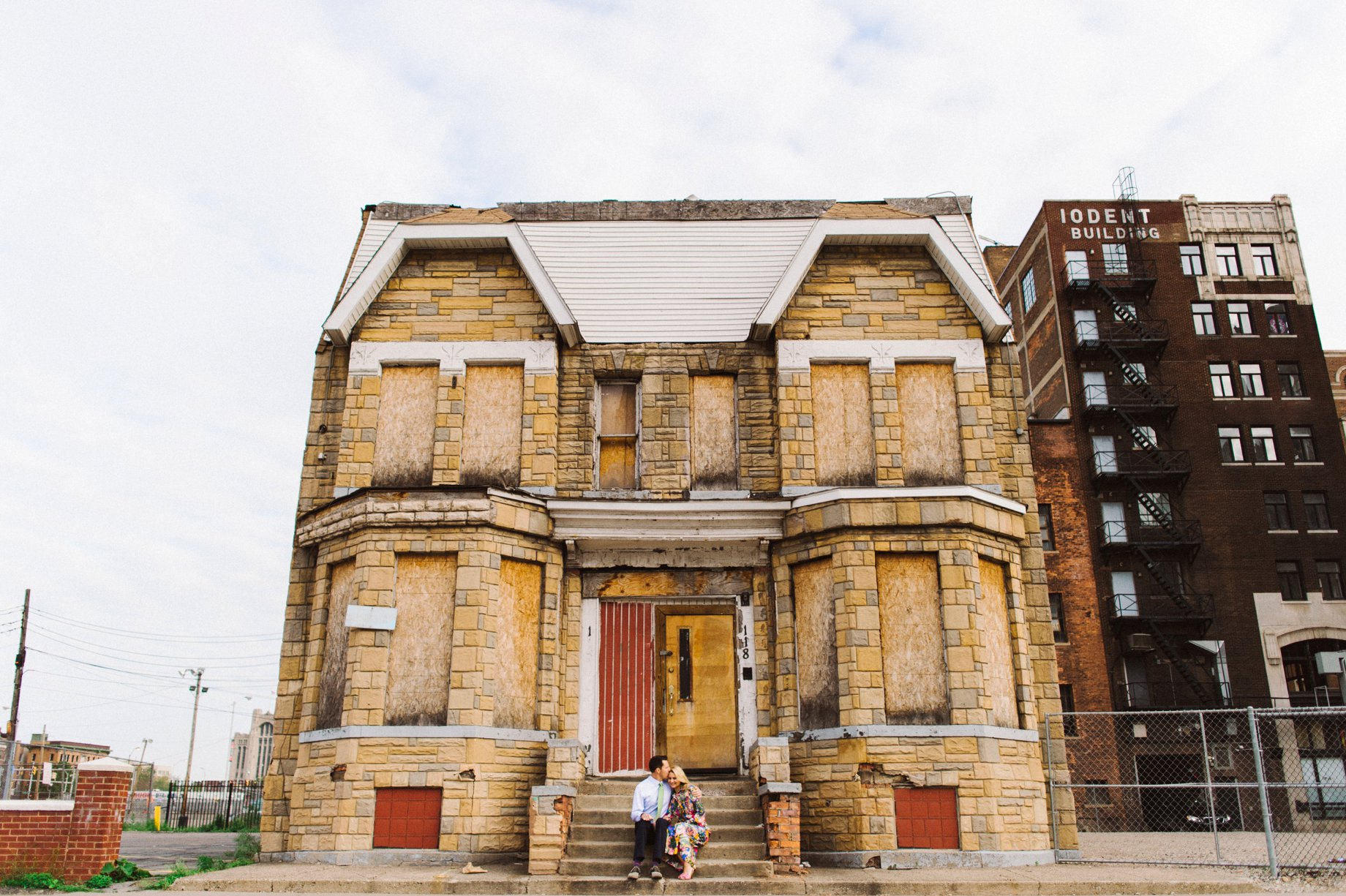photographs in fox town detroit