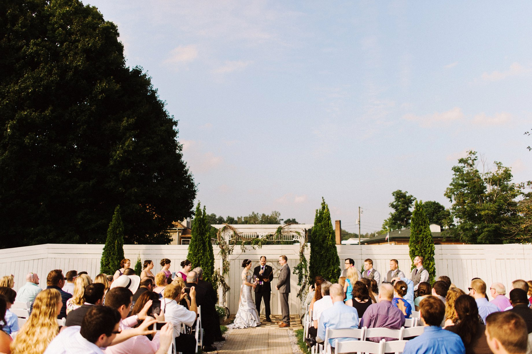 benton harbor wedding