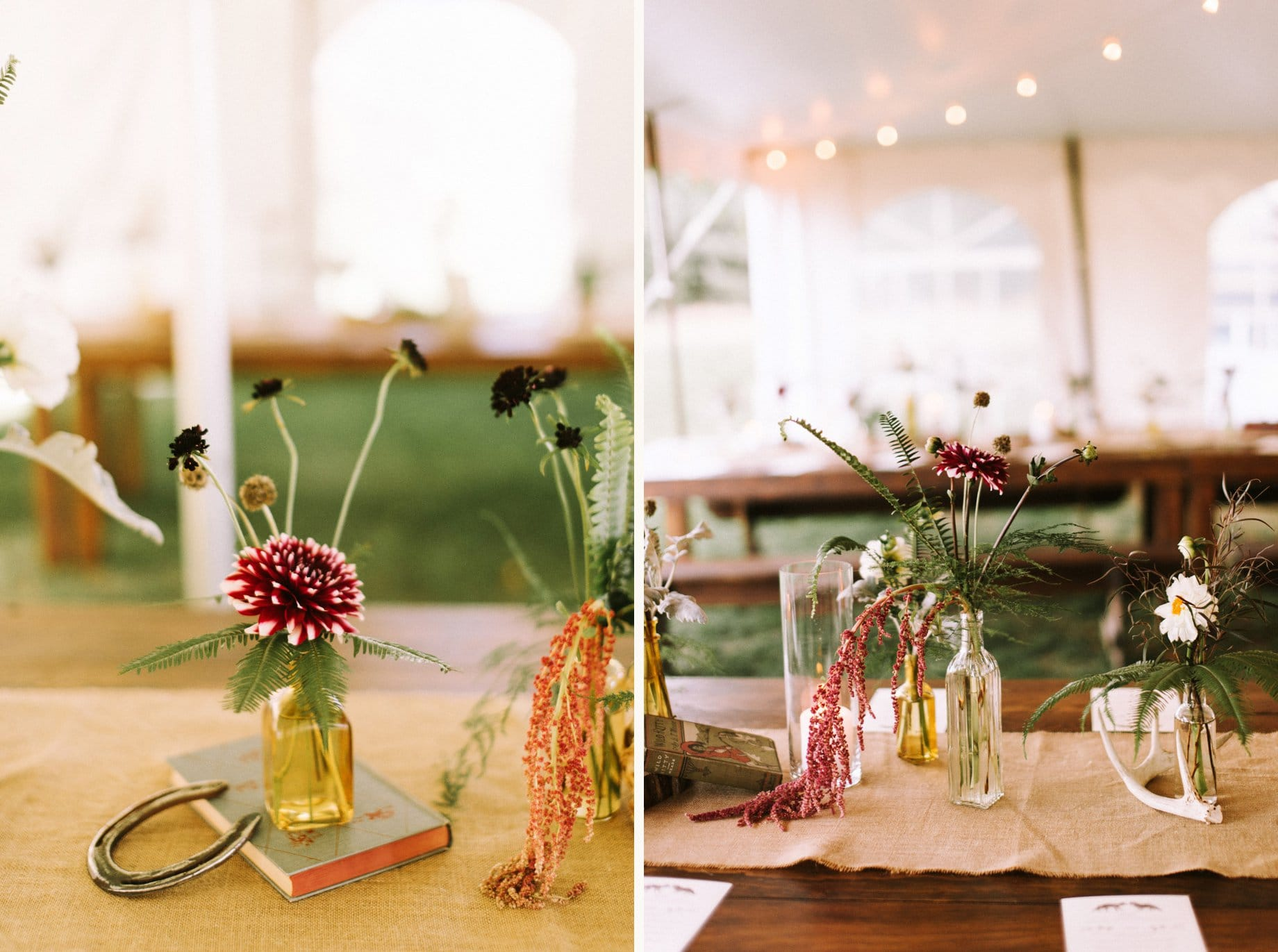 rustic weddng flowers