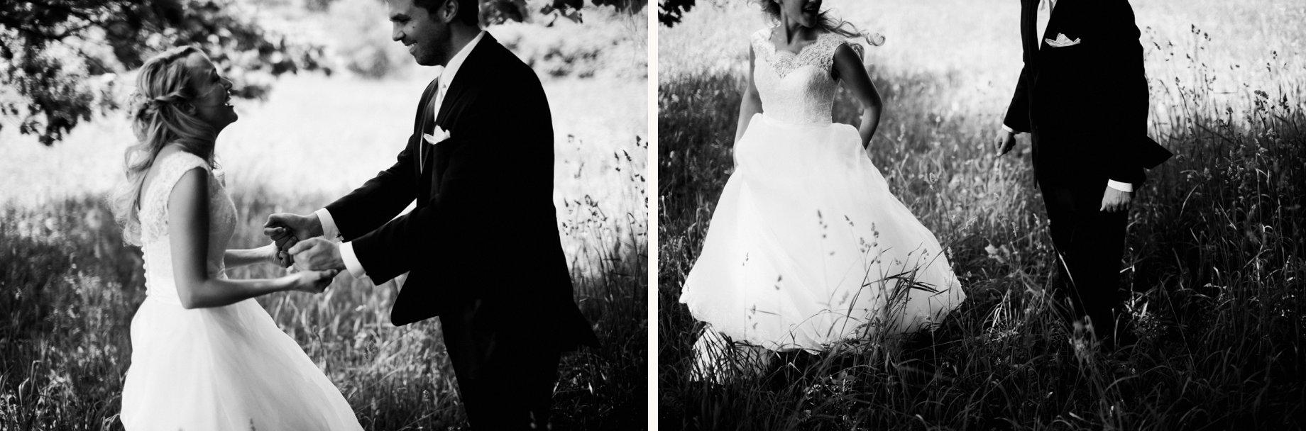 black and white port huron wedding photography