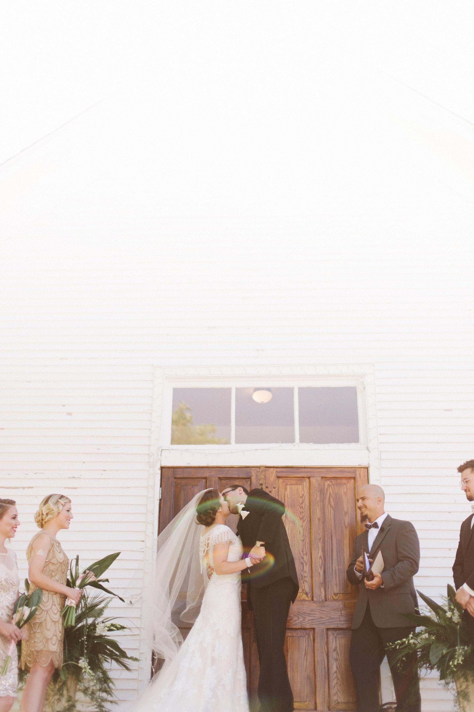 first kiss at felt chapel