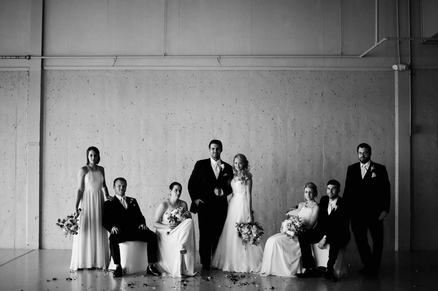 vanity fair style wedding party