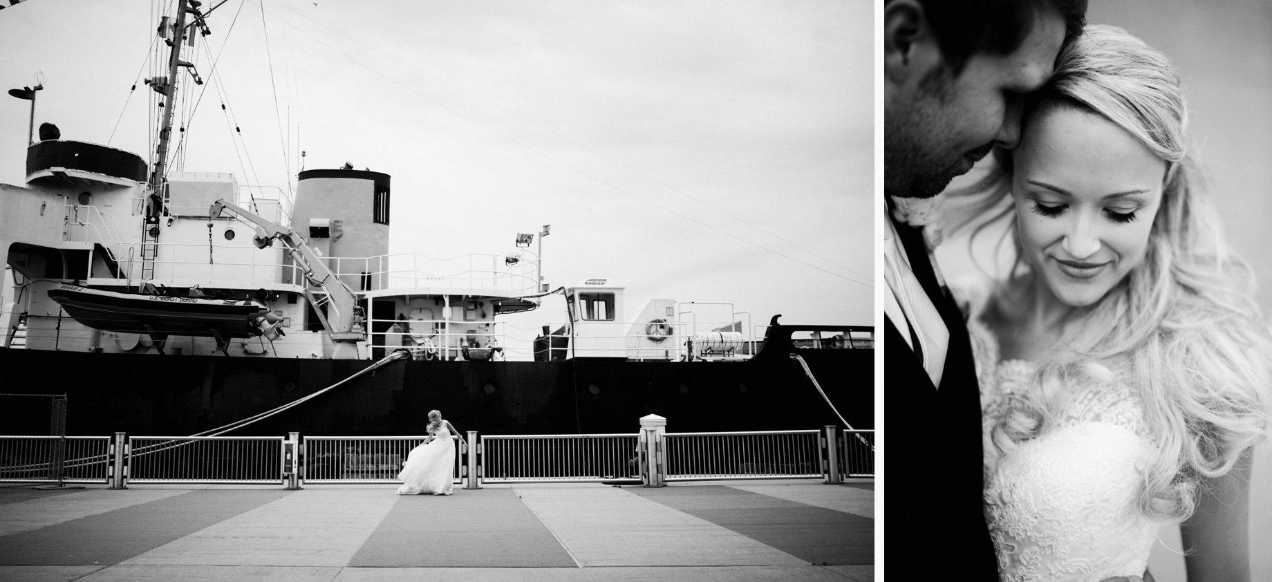 nautical wedding portraits