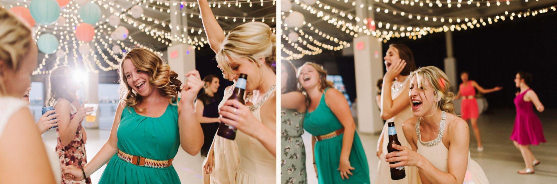bean dock wedding