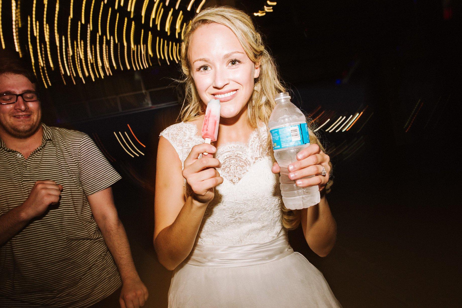 popsicle wedding