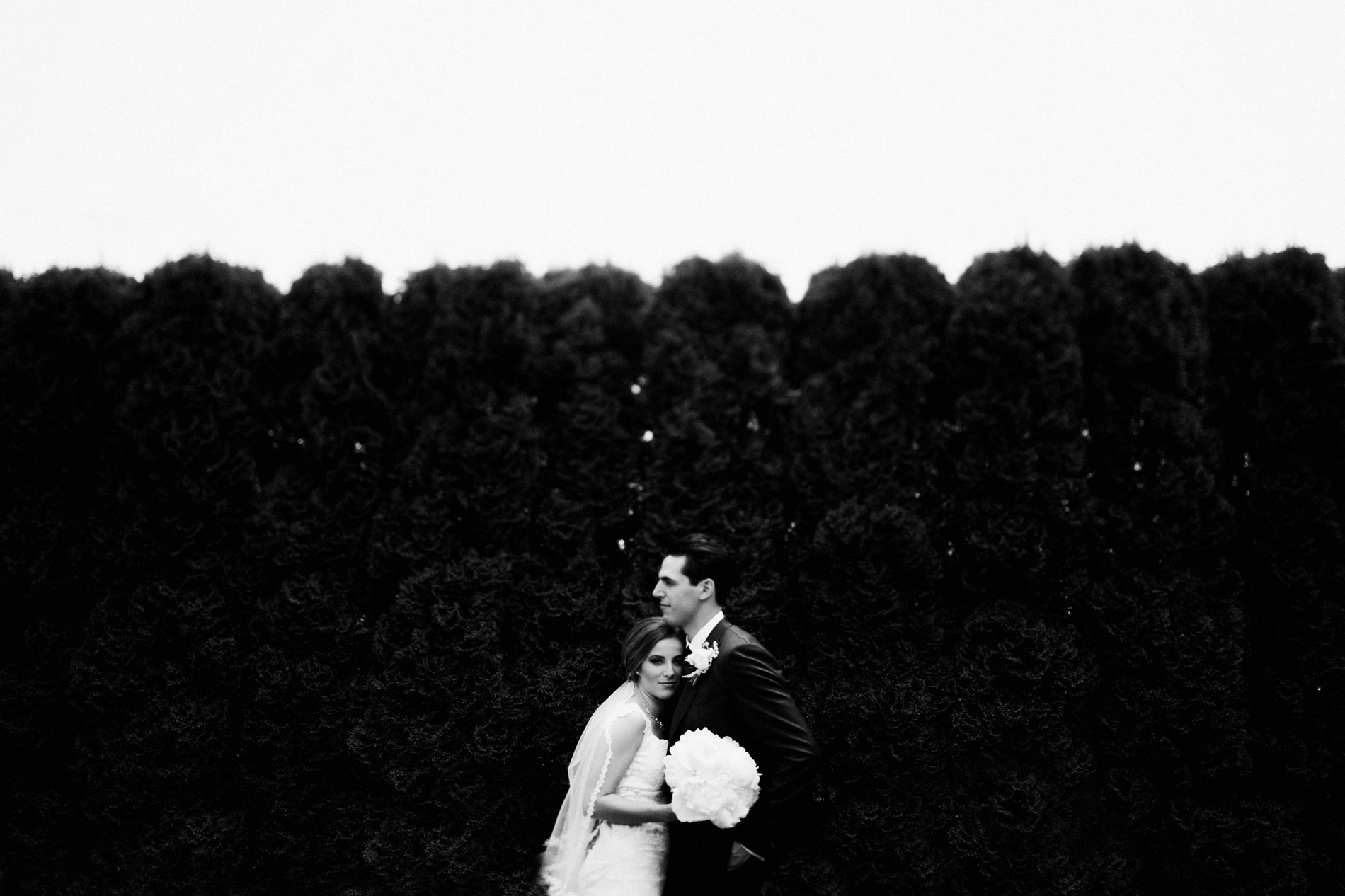 Rachel and Chris at Castle Farms in Charlevoix