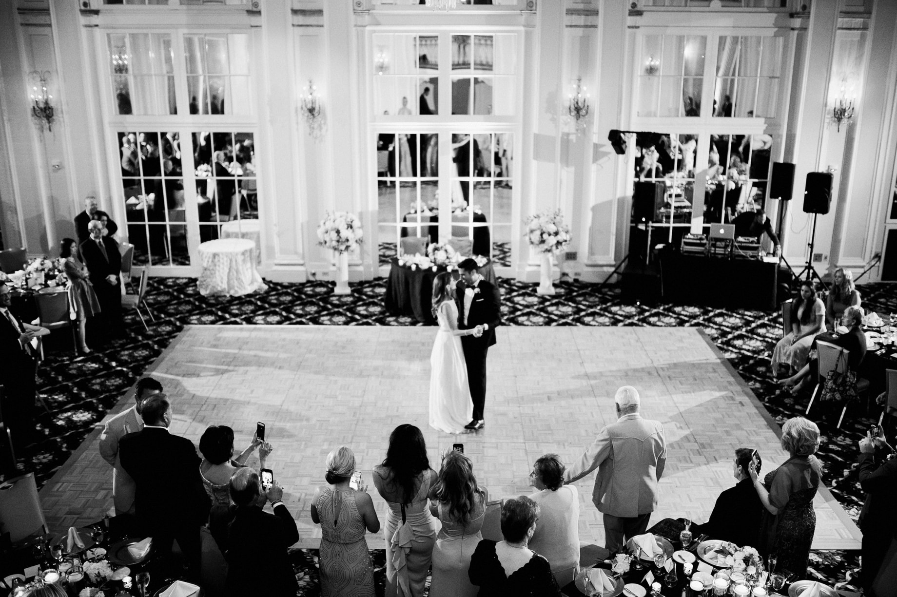 first dance in pantlind ballroom grand rapids