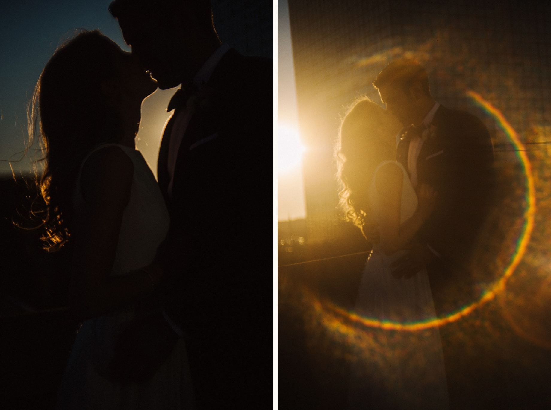 flare wedding portraits
