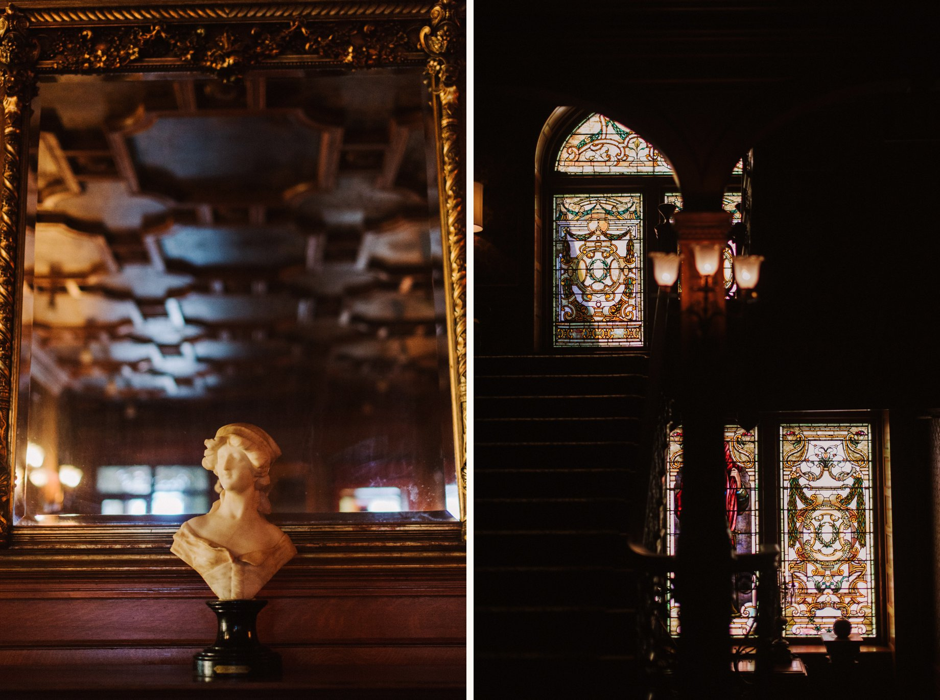 details of the Whitney by detroit wedding photographer Heather Jowett