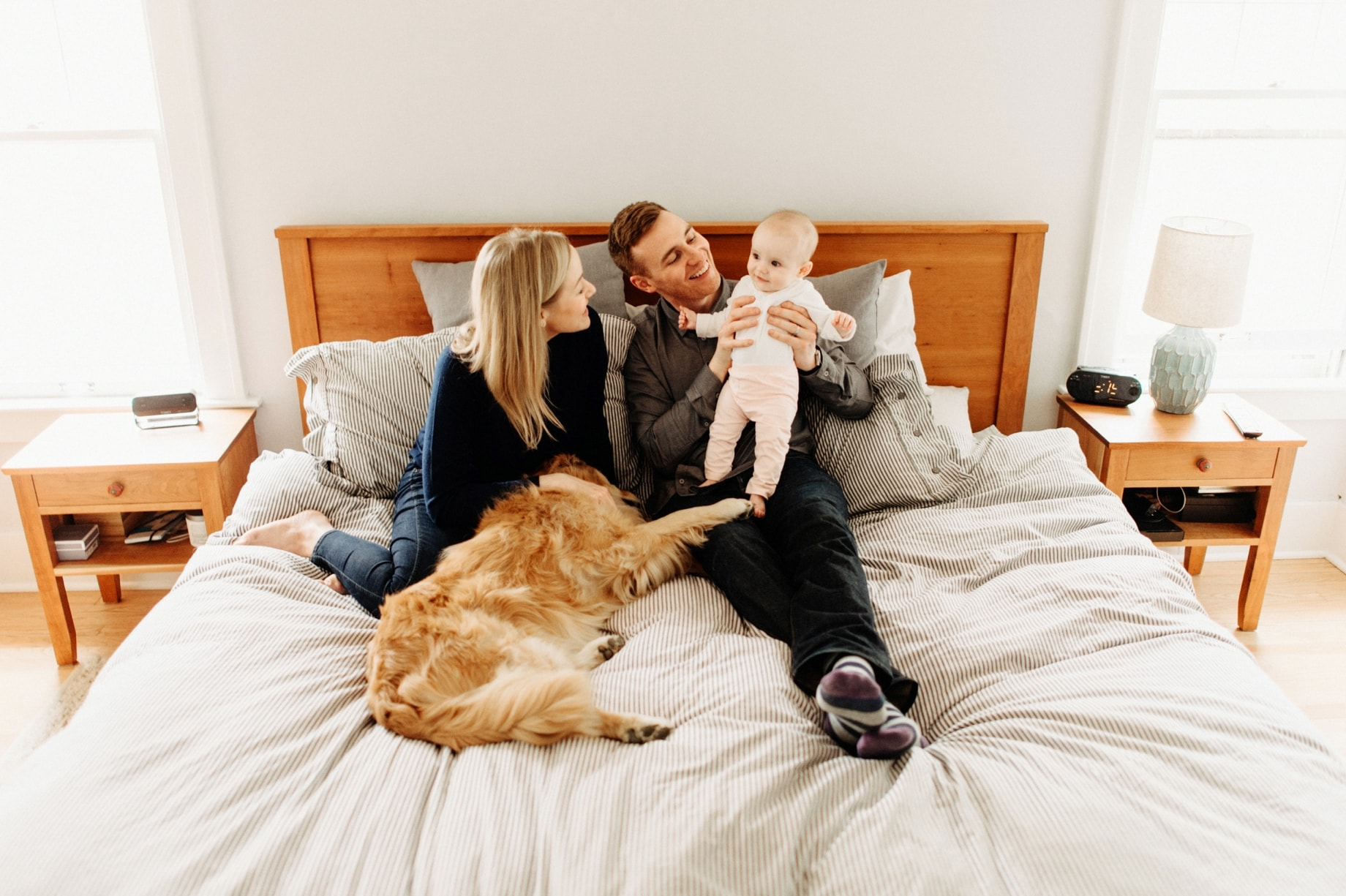 lifestyle family portraits by ann arbor photographer heather jowett