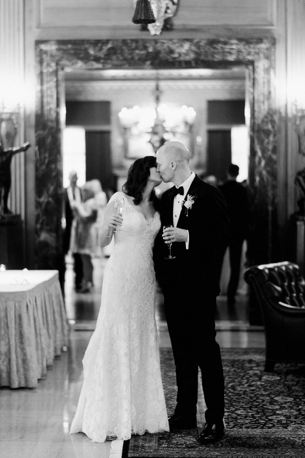 John and Zana's Detriot Athletic Club Wedding