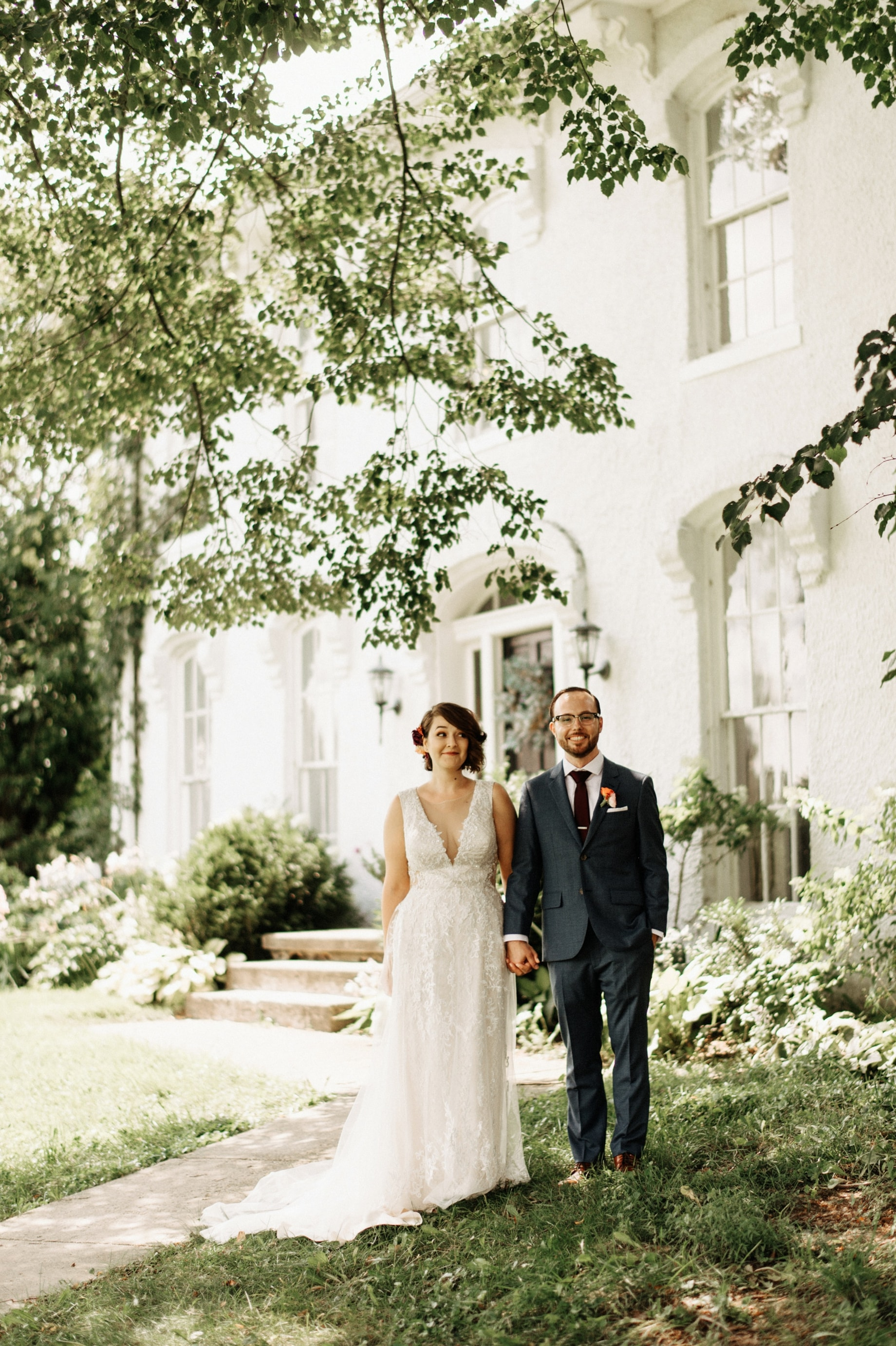 personality filled wedding portraits