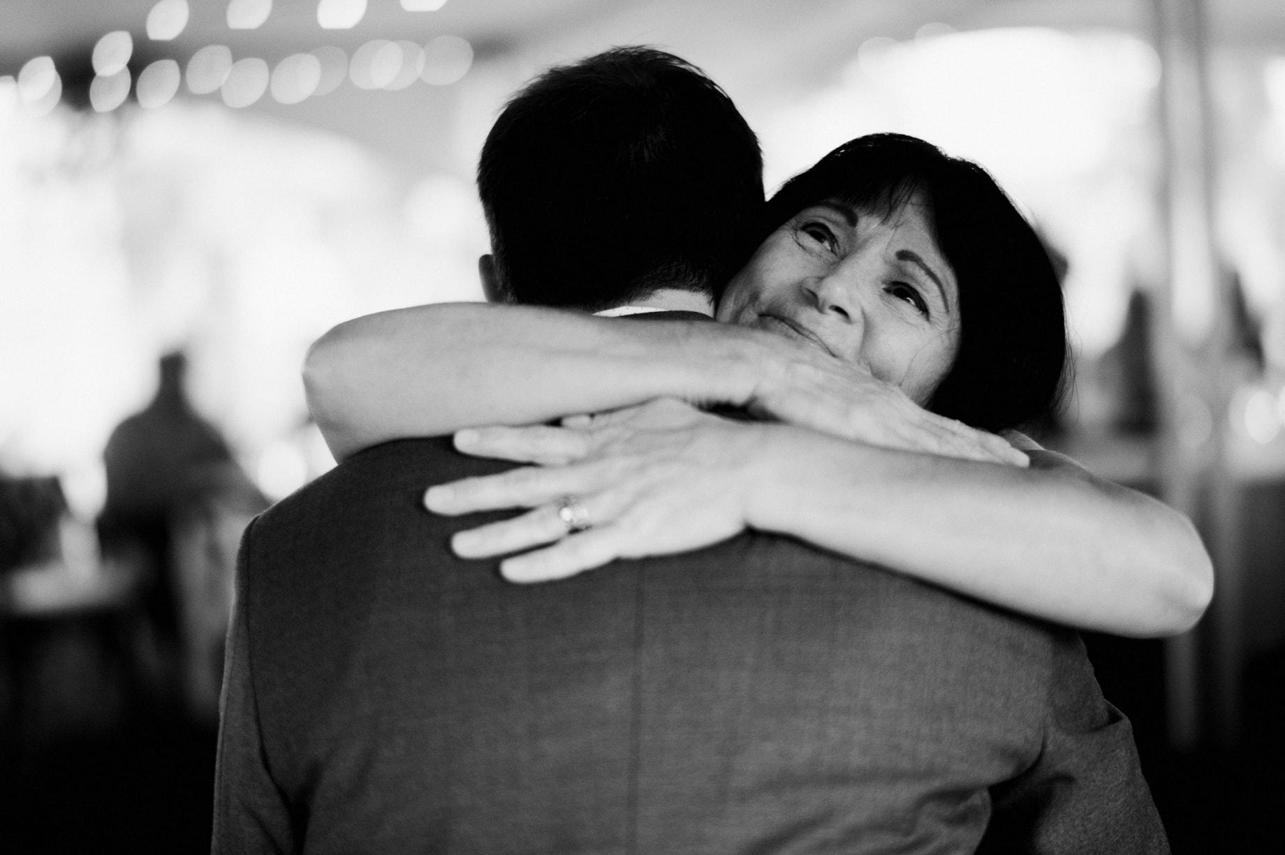 hugs from mom