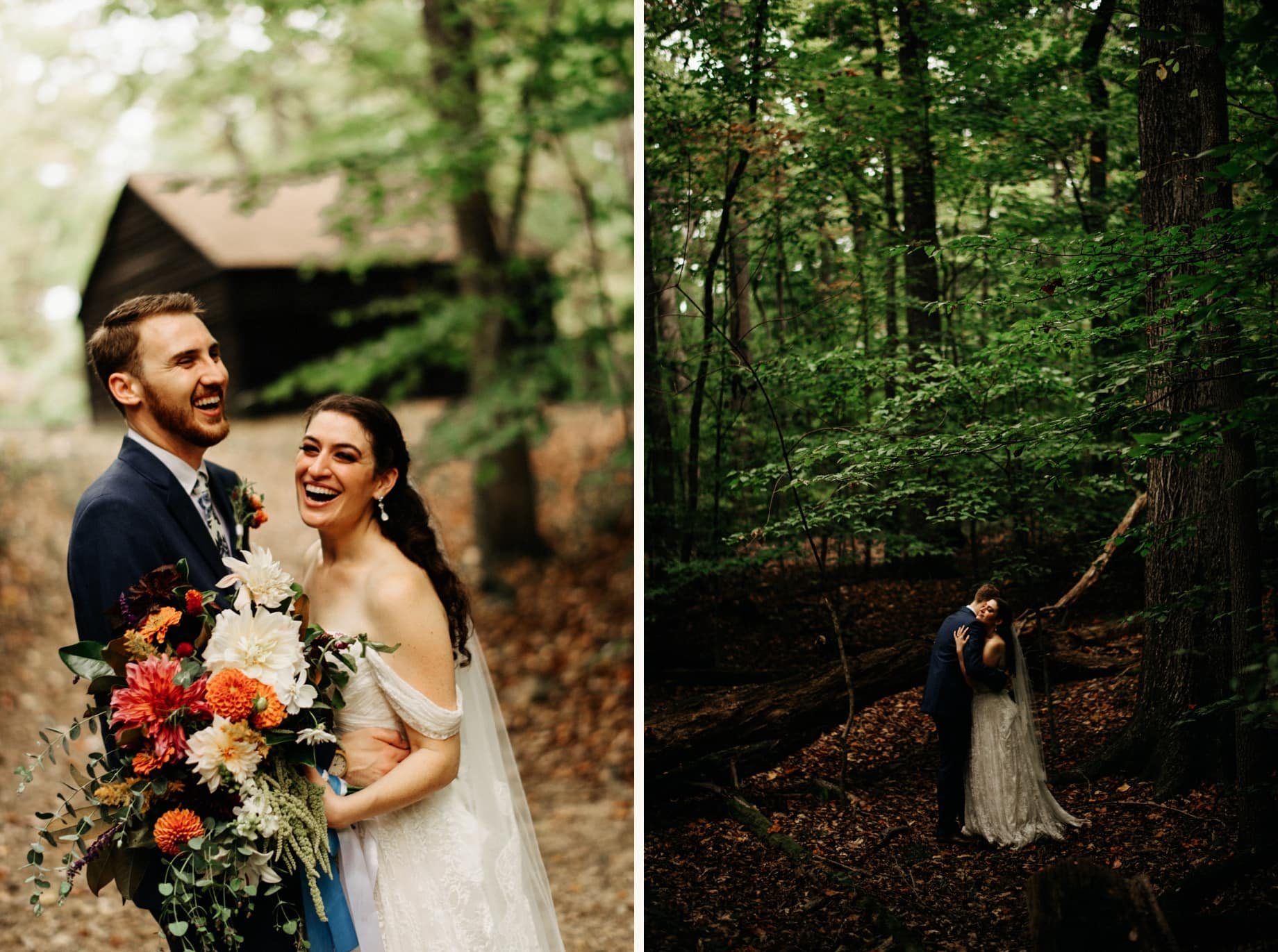 prince william forest park wedding
