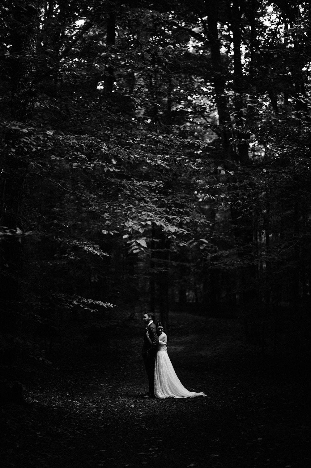Stephanie & James' Prince William Forest Park Camp Wedding
