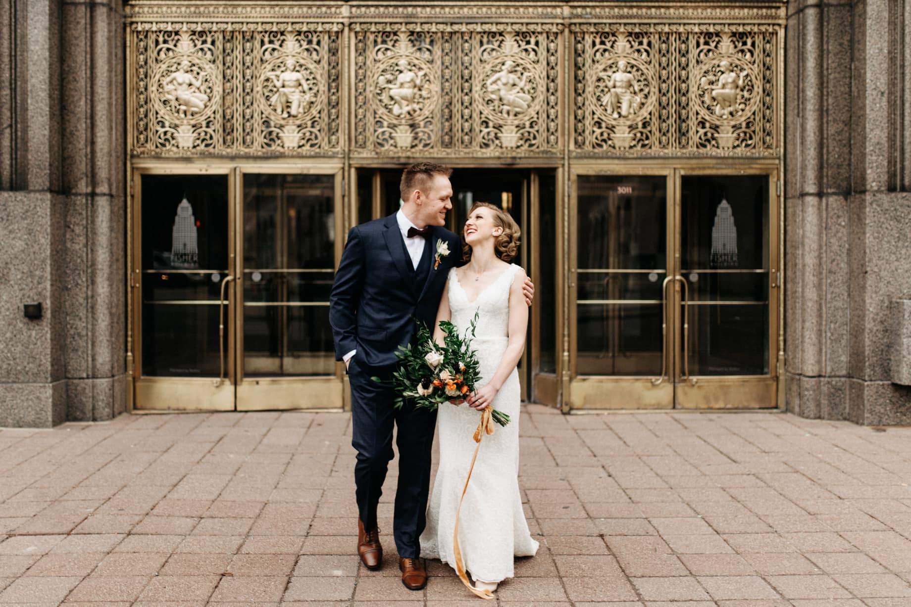 classic wedding photography in Detroit